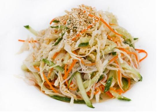 Как приготовить китайский салат