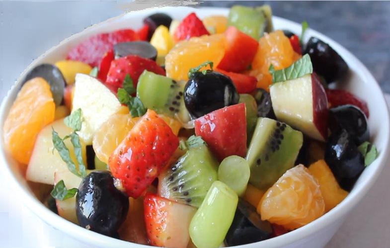 Рецепт вкусного фруктового салата